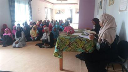 مسابقه حفظ ادعیه در ماداگاسکار برگزار شد+تصاویر