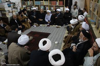 تصاویر/ نشست طلاب و فضلای شهرستان فیروزکوه