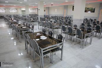 مهمانسرای جدید حضرت رضا(ع) با ظرفيت ۳۵۰۰ نفر افتتاح ميشود