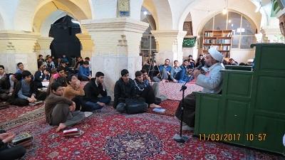اجرای طرح تبلیغی «بینات» در مناطق فاقد روحانی  استان مرکزی