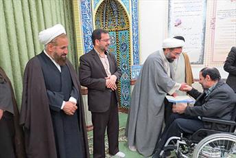 خادمین و فعالین نماز در یزد تجلیل شدند