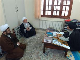 بازدید از مدارس علمیه گرگان در آغاز سال جدید