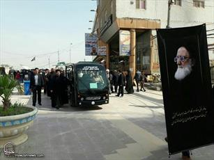 تصاویر/ تشییع پیکر مرحوم آیت الله ابن الرضا در نجف اشرف