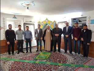 بازدید رییس سازمان فرهنگ از حوزه علمیه امام رضا(ع) در گرجستان