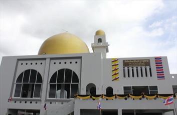 افتتاح یک مسجد جدید در کشور تایلند + تصاویر