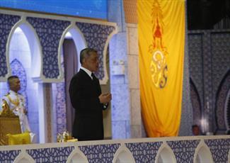 حضور پادشاه تایلند در مراسم مولود النبی(ص) + عکس
