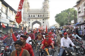 برگزاری جشن میلاد پرشور امام علی (ع) در حیدرآباد  هند