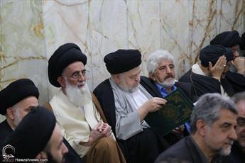 تصاویر/ مراسم تشییع همسر حجت الاسلام والمسلمین  موسوی تهرانی