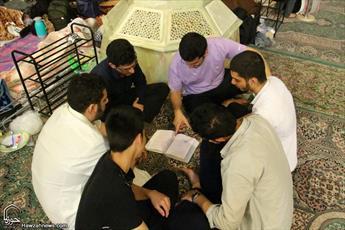تصاویری از معتکفین مسجد امام حسن عسکری(ع)قم