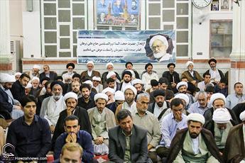 مراسم بزرگداشت مرحوم حجت الاسلام والمسلمین برهان در قم برگزار شد