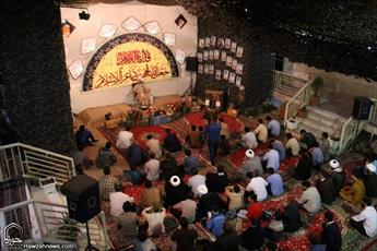 مراسم گرامیداشت شهدای مدافع حرم در مدرسه علمیه مهدی موعود(عج) قم
