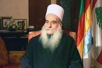 انتقاد رهبر معنوی دروزی های لبنان از رفتار طایفه ای سیاسیون