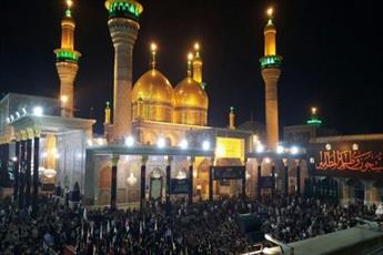 حضور میلیونی زائران عزادار در حرم مطهر امام کاظم(ع)