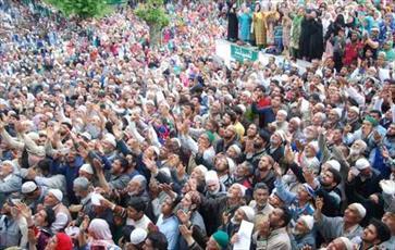 برگزاری شب معراج پیامبر در جامو و کشمیر