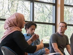 دیدار رئیس شرکت معروف ارتباطی با دانشجویان مسلمان میشیگان