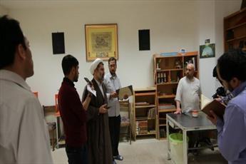 بازدید اصحاب رسانه قم  از کتابخانه جدید آستان مقدس حضرت معصومه(س)