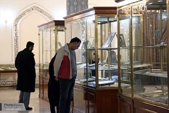 استقبال از آثار موضوعی امام حسین(ع) در موزه آستان قدس رضوی