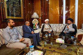 رئیس اوقاف ایران و تولیت آستان علوی دیدار کردند