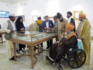 ۸ نفر از علمای صوفی هندوستان به حرم رضوی مشرف شدند