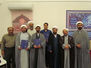 طلاب برتر حوزه علمیه گلستان تجلیل شدند