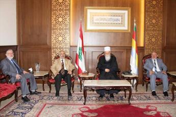جماعت اسلامی لبنان  با رهبر معنوی  دروزی ها  دیدار کردند