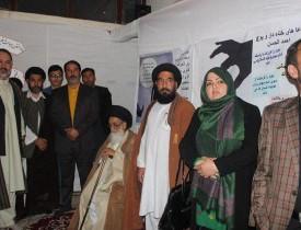 برگزاری نمایشگاه امید باران در مدرسه زینبیه کابل