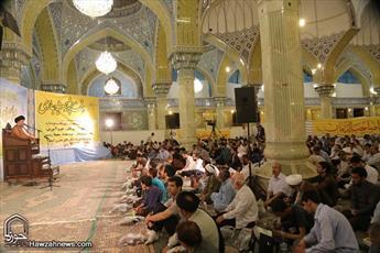 تصاویر/  مراسم احیای شب نیمه شعبان در مسجد امام حسن عسکری(ع)