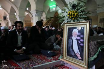 تصاویر/ مراسم تشییع حجت الاسلام والمسلمین ابراهیم حسن نژاد