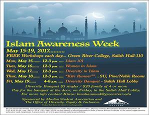 برگزاری هفته «بیداری اسلامی» در کالج گرین ریور در واشنگتن