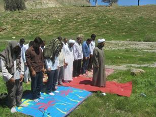 اردوی خانوادگی حوزویان جنوب استان ایلام برگزار شد
