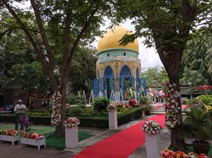برگزاری مراسم بزرگداشت بنیانگذار مذهب تشیع در تایلند توسط نوادگانش + عکس