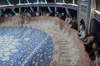 مسجد امام علی(ع) هامبورگ غبارروبی شد + عکس