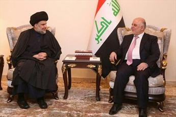 مقتدی صدر از حیدر العبادی حمایت کرد