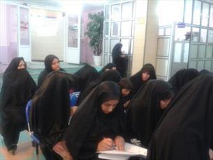 فعالیت تبلیغی  خواهران طلبه نورآبادی در مدارس دخترانه