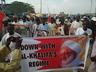 راهپیمایی شیعیان نیجریه در حمایت از شیخ قاسم + تصاویر