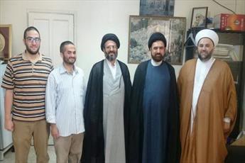 رئیس مرکز ارتباطات و بین الملل حوزه از دانشکده تبلیغات اسلامی لبنان بازدید کرد +عکس