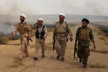 سه روحانی عراقی در حمله هواپیمای شناسایی داعش مجروح شدند+ تصاویر