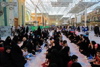 فقرا و زائران نجف اشرف، افطار میهمان امام علی(ع) هستند+ تصاویر