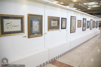 منتخب ۲۰۰ تابلوی قرآنی در نمایشگاه قرآن