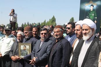 تقدیر نماینده ولی فقیه در استان قزوین از حضور باشکوه مردم در تشییع جنازه شهید رضایی