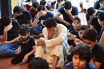 مراسم سوگواری شهادت حضرت علی(ع) در قطیف عربستان +تصاویر
