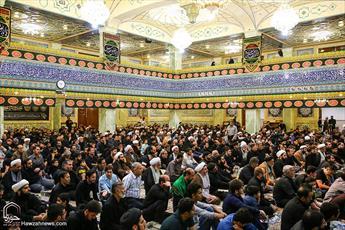 مراسم شب بیست و یکم ماه رمضان در حرم حضرت معصومه(س) برگزار شد
