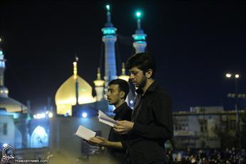تصاویر/حرم کریمه اهل بیت علیهم السلام در شب قدر