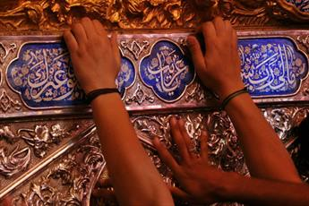 تصاویر احیاء سومین شب قدر در کربلا