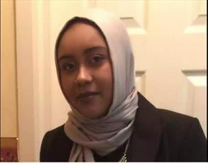 تشییع جنازه دختر محجبهای که در راه مسجد به قتل رسید + عکس
