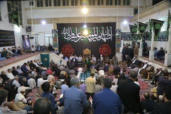 تصاویر/ مراسم چهلمین شب درگذشت حجت الاسلام حسن نژاد