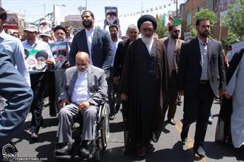 پیام راهپیمایی روز قدس حفظ همدلی و وحدت بین  امت اسلام  است