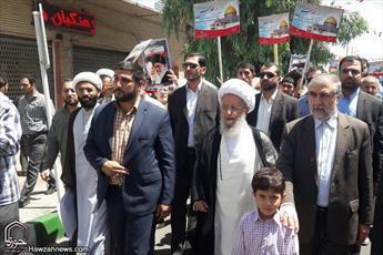 استمرار راهپیمایی روز قدس سبب آزادی فلسطین می شود/ پیام حضور مردم سرنگونی رژیم صهیونیستی است