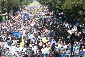 مسیرهای ده گانه راهپیمایی روز قدس در تهران