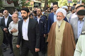 مردم با حفظ وحدت و همدلی، پاسدار خون شهدا هستند/ آل سعود از  پیروان اقماری رژیم صهیونیستی است